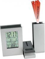 Plastový digitální budík s projektorem času..01629