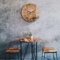 Nástěnné hodiny s retro motivem Old Time Lowell 21464 Lowell Italy