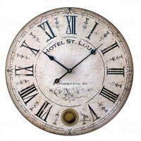 Designové nástěnné hodiny 21405 Lowell 48cm