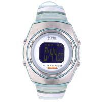Digitální hodinky s ukazatelem data, alarmem, stopkami a podsvíceným displayem 42-D61369G5ZU0Z001