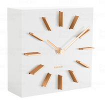 Designové stolní i nástěnné hodiny 5781WH Karlsson 15cm