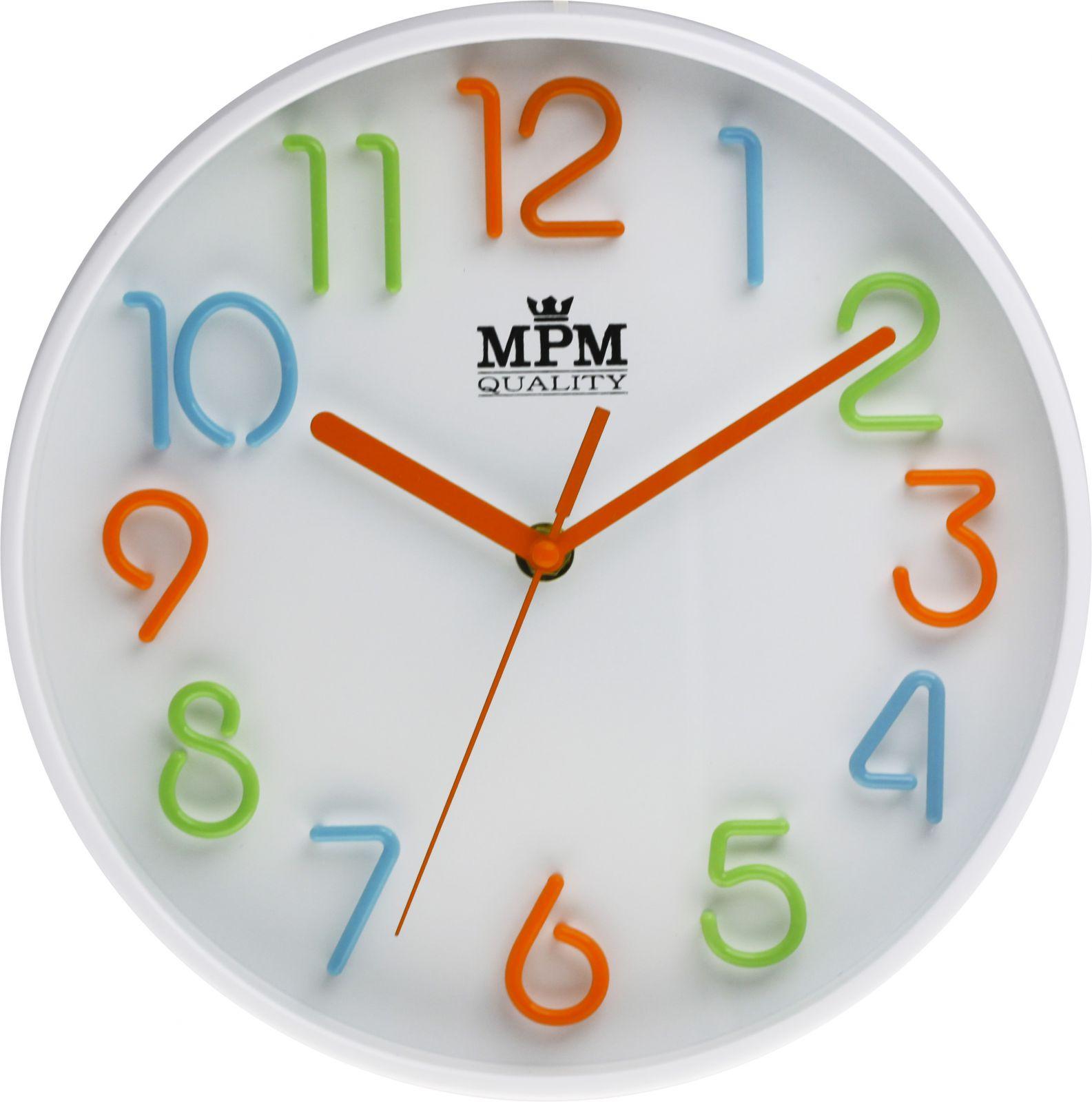 Nástěnné hodiny na stěnu, nástěnné hodiny na zeď kulaté, dětské hodiny