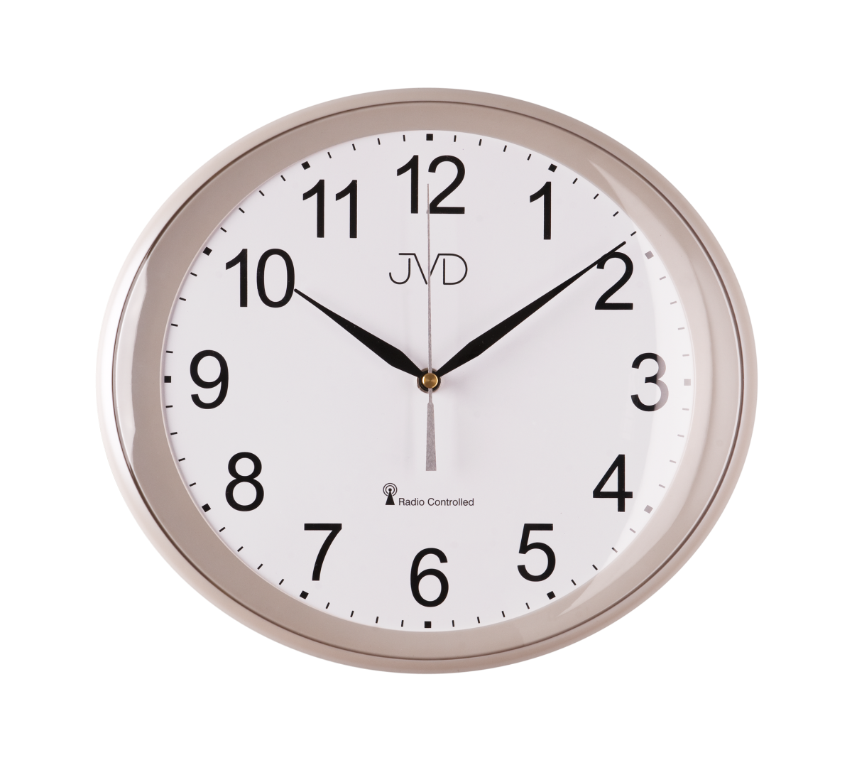 JVD Rádiem řízené nástěnné hodiny, hodiny na zeď RH 64.5.5