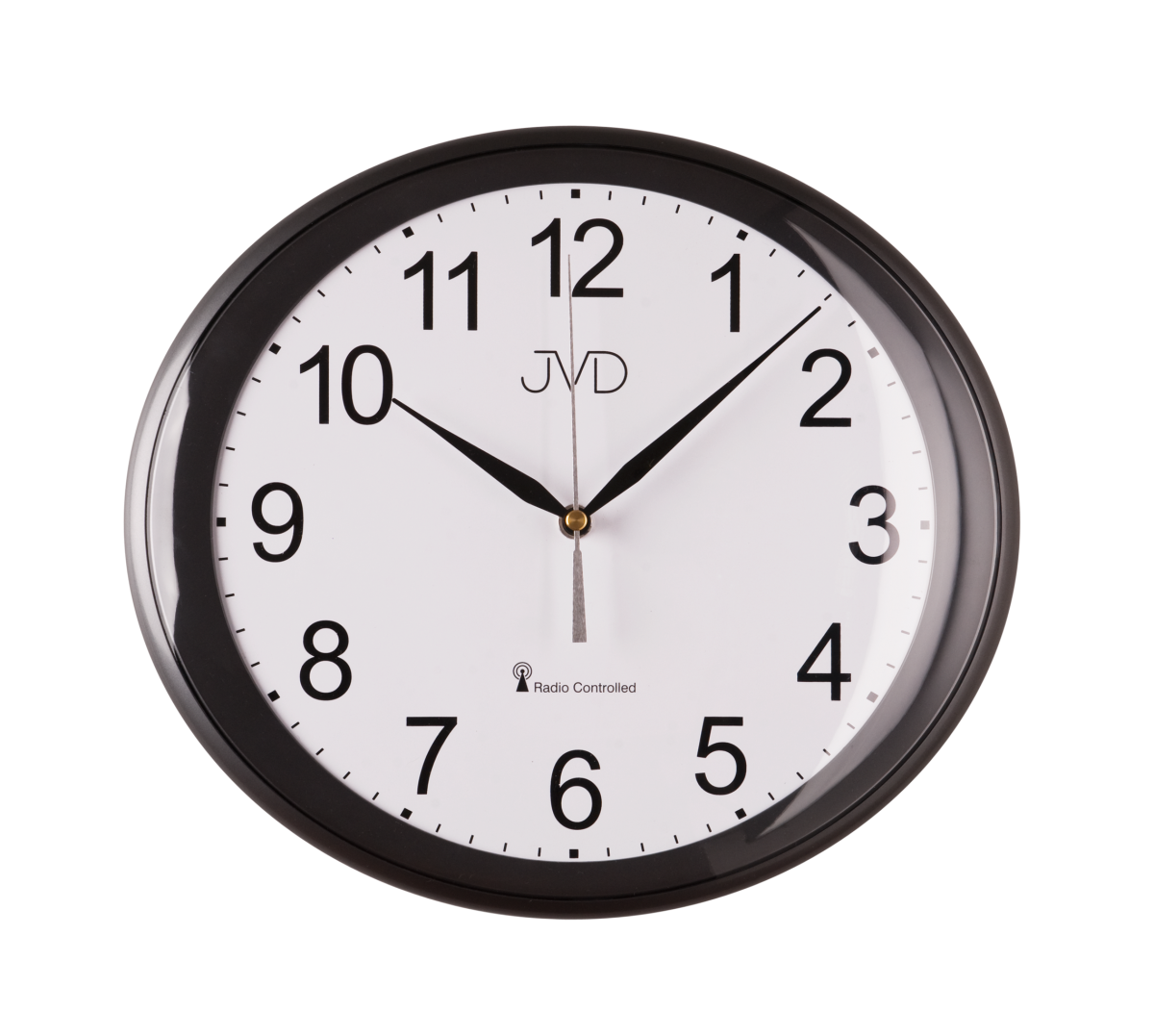 JVD Rádiem řízené nástěnné hodiny, hodiny na zeď RH 64.1.1