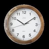 Dřevěné nástěnné hodiny JVD NS19020/78
