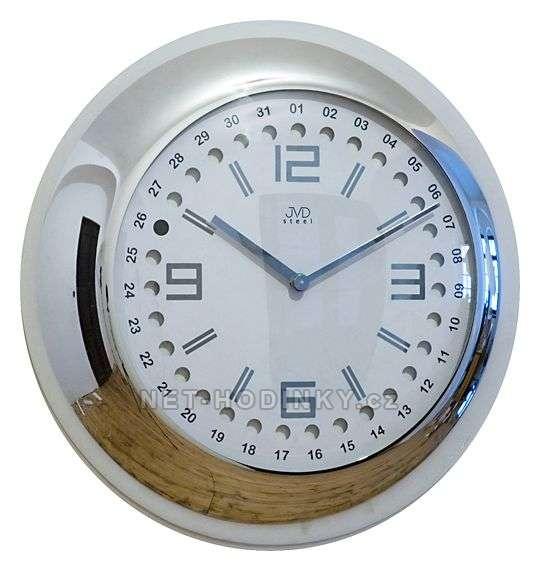 JVD Kovové hodiny HC 08.1.1