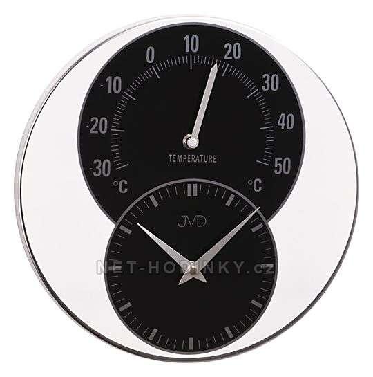 JVD Kovové hodiny HW35.2.2