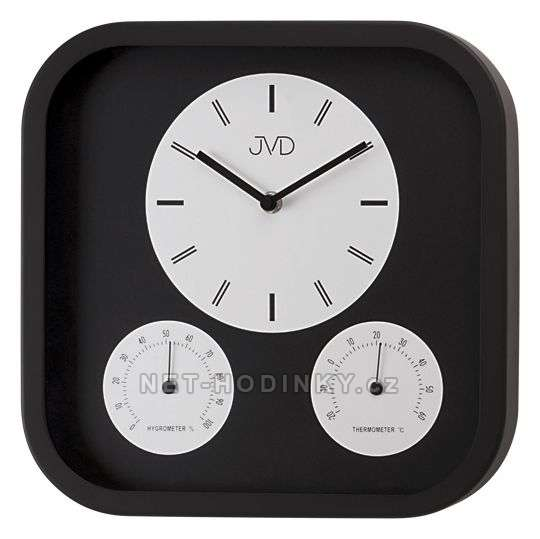 Kovové hodiny JVD
