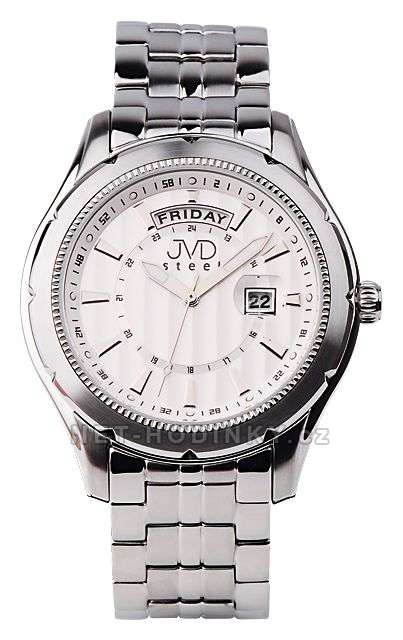 pánské hodinky,Náramkové hodinjy JVD steel C1169.1