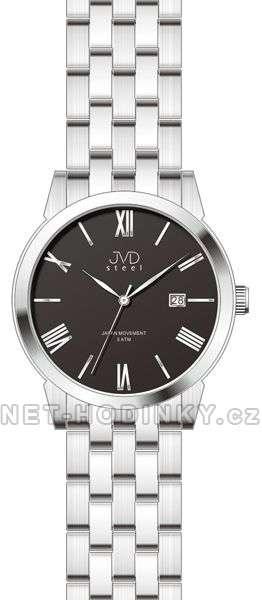 pánské hodinky,Náramkové hodinky JVD steel J1056.1.1 černá