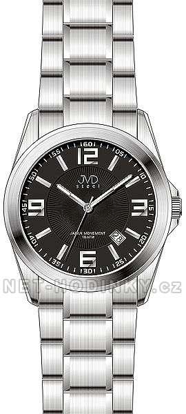 Nástěnné hodiny pánské hodinky,Náramkové hodinky JVD steel J1065.2 - J1065.3.3 Nástěnné hodiny
