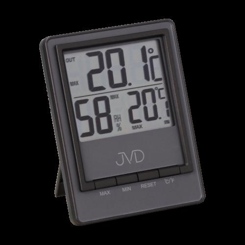 Digitální teploměr s vlhkmoměrem JVD T28