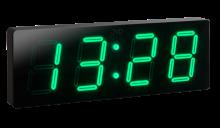 Velké nástěnné digitální LED hodiny DH1.3 (zelené LED číslice)