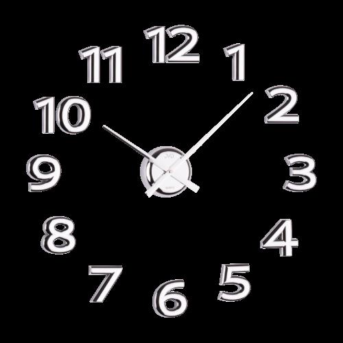 Nástěnné nalepovací hodiny JVD HB12