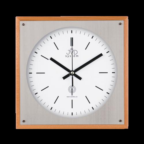 Rádiem řížené nástěnné hodiny JVD system RH28082/68