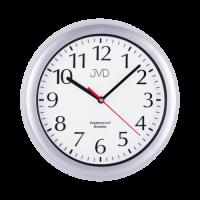 Saunové hodiny JVD quartz SH494.1 stříbrná barva