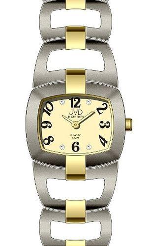 Náramkové hodinky JVD titanium J5003.1