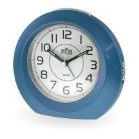 Kulatý analogový budík se zesilujícím alarmem v různobarevném provedení C01.2542