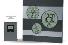 Moderní digitální meteostanice s teplotním senzorem C02.2577