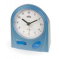 Moderní ručičkový budík se zesilujícím alarmem C01.2563