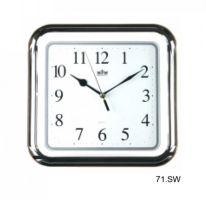 Plastové nástěnné hodiny s plynulým chodem E01.2458