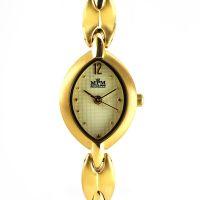 Dámské společenské hodinky s reliéfním číselníkem jemného designu..0241
