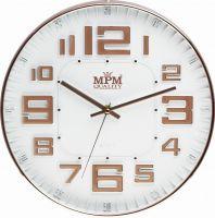 Designové nástěnné hodiny s elegantním ciferníkem.Hodiny v II.jakosti (lehké oděrky/loupání na lesklém povrhu - nelze vidět na zdi) E01.3225
