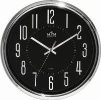 Luxusní nástěnné hodiny ve zlatém a stříbrném provedení E01.3171