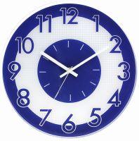Originální barevné nástěnné hodiny s plynulým chodem E01.3234