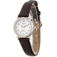 Jednoduché dámské hodinky s koženým řemínkem W02M.10930