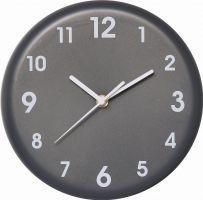 Jednoduché nástěnné hodiny bez rámu.0548