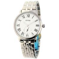 Klasické pánské hodinky s ocelovým řemínkem a římskými indexy W01E.10995