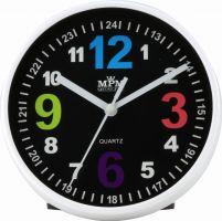 Malé plastové hodiny s možností zavěšení na zeď nebo postavení na stůl E01.3685