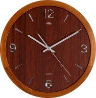 Dřevěné hodiny PRIM Wood Style zpříjemní každý interiér.Jsou vyrobeny ze dřeva. Na číselníku jsou arabské číslice, které jsou v 3D lesklém provedení. Tyto hodiny mají v