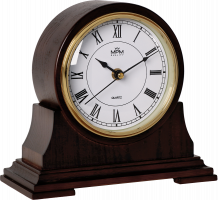 Dřevěné stolní hodiny s římskými číslicemi E03.3887