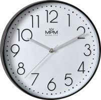 Elegantní nástěnné hodiny z plastus čitelnými čísly. Hodiny, které se hodí do každého moderního bytu či domu..01415