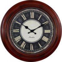 Retro nástěnné hodiny s římskými číslicemi E01.3879