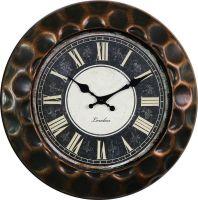 Retro nástěnné hodiny s římskými číslicemi E01.3880