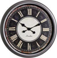 Retro nástěnné hodiny s římskými číslicemi E01.3883