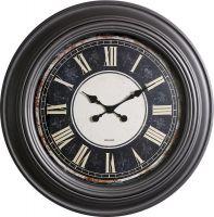 Retro nástěnné hodiny s římskými číslicemi E01.3858