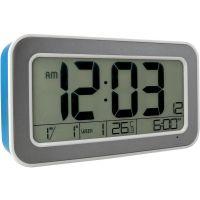 Digitální LCD budík s ukazatelem data a teploty. Nechybí ani funkce opakovaného buzení a podsvícení displeje. Možnost výběru z 25 melodií.Napájení: Micro USB DC 5V C02.4003