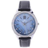 Elegantní dámské hodinky s perleťovým ciferníkem s kamínky a indexy. W02M.11269