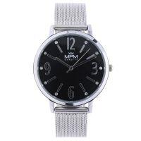 Módní dámské hodinky MPM Fashion s výraznými číslicemi v barevných odstínech, které oslní každou ženu. Elegantní zpracování s jemnými kamínky v ciferníku. W02M.11265