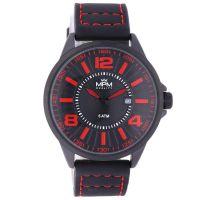 Populární pánské sportovní hodinky MPM se stylovým koženým pilot řemínkem. Barevné kombinace pro všechny trendy muže. W01M.11275