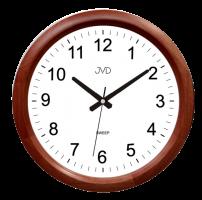 Nástěnné hodiny s plynulým chodem JVD NS8017.1