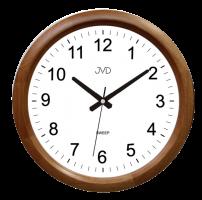 Nástěnné hodiny s plynulým chodem JVD NS8017.2