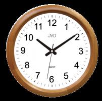Nástěnné hodiny s plynulým chodem JVD NS8017.3