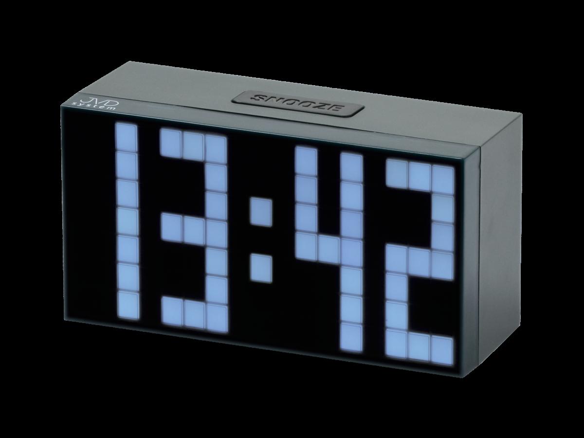 JVD digitální budíky, budík s adaptérem SB2083.2.2