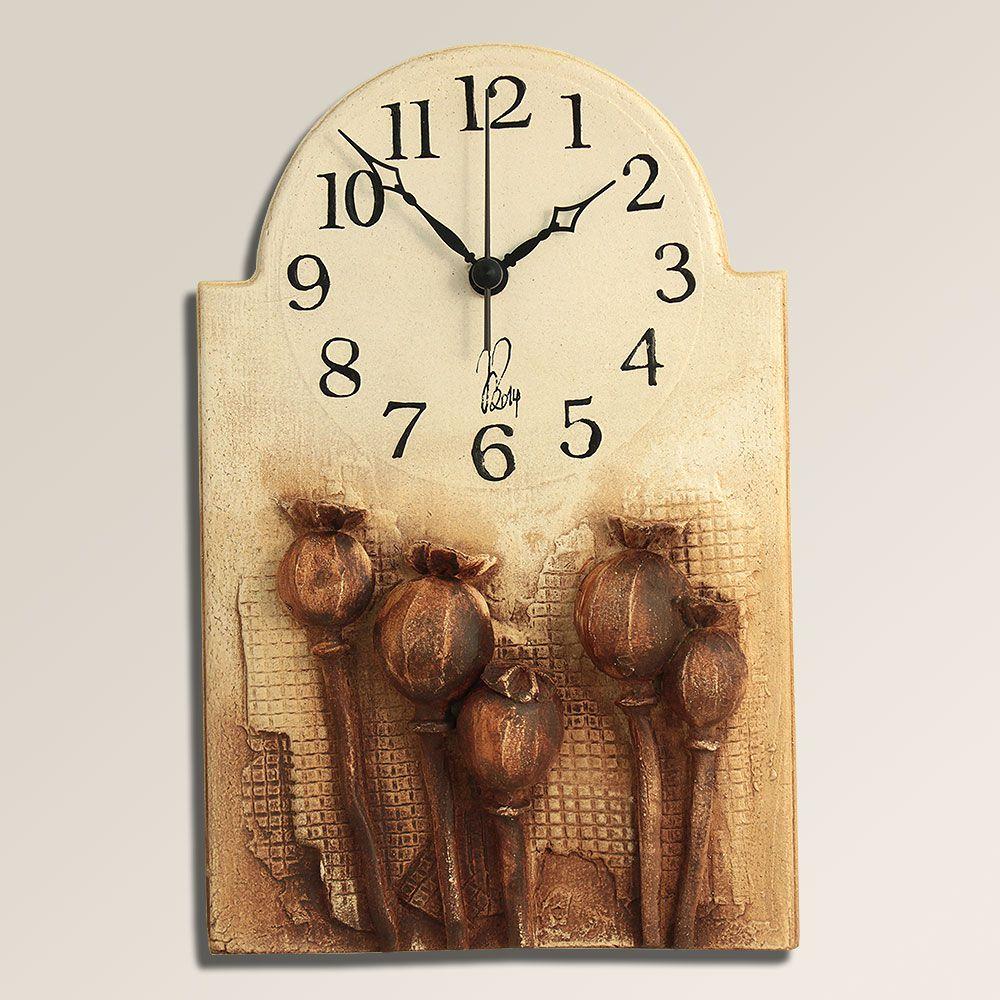 autorské hodiny Retro hodiny na stěnu Makovičky