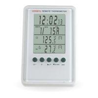 Digitální bezdrátová meteorologická stanice s teplotním senzorem C02.2576